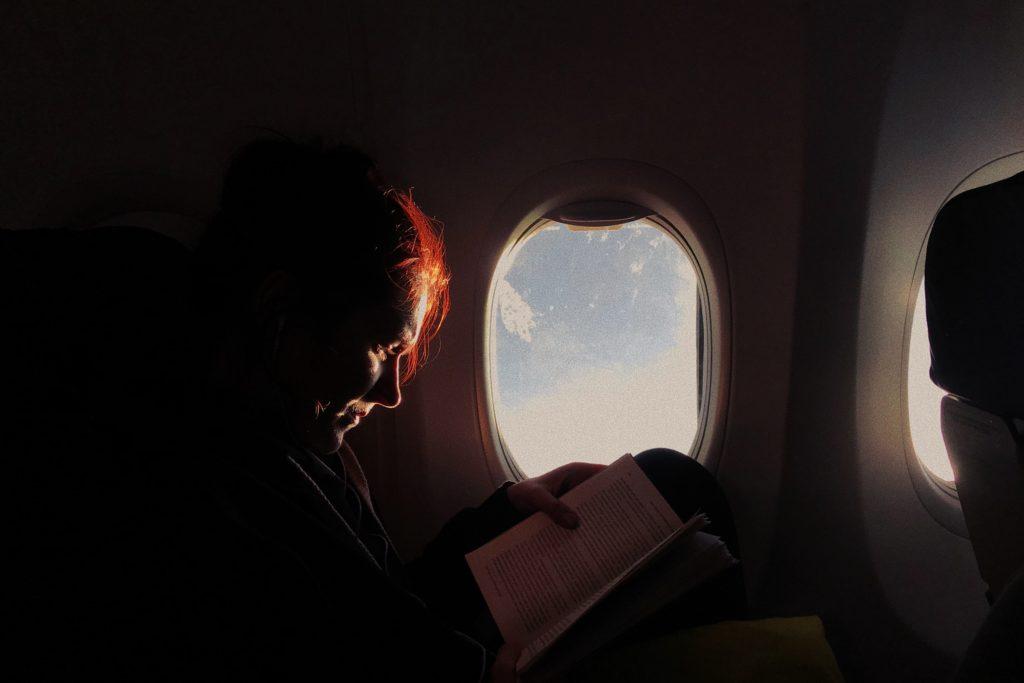 機内で読書